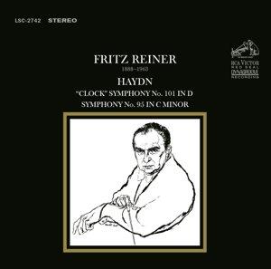 """Sinfonie 101 in D """"The Clock""""; Sinfonie 95"""