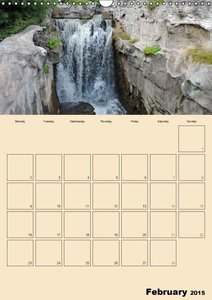 WATER AND SUN (Wall Calendar 2015 DIN A3 Portrait)