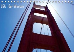 USA - Der Westen (Tischkalender 2016 DIN A5 quer)