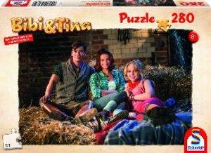 Bibi + Tina, Puzze zum Film, Bibi, Tina und Alex im Stall, 280 T