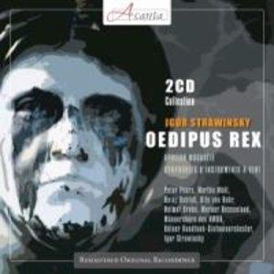 Strawinsky: Oedipus Rex/Apollon musagete