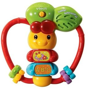 VTech Baby 80-077804 - Lustige Apfelrassel
