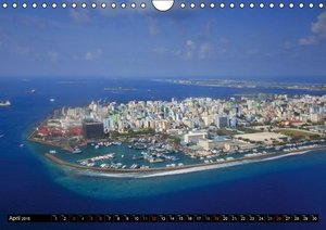 MALDIVES - UK Version (Wall Calendar 2015 DIN A4 Landscape)