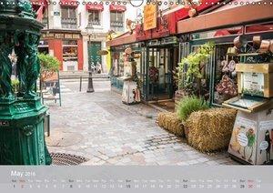 Paris City of Love (Wall Calendar 2016 DIN A3 Landscape)