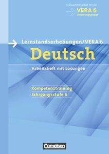 Vorbereitungsmaterialien für VERA Deutsch 6. Schuljahr. Arbeitsh