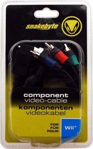 Wii Komponenten-Video-Kabel [schwarz]