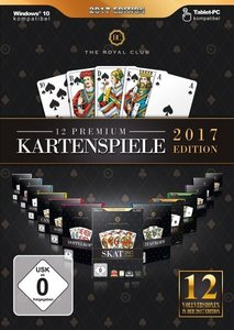 The Royal Club 12 Premium Kartenspiele 2017. Für Windows Vista/7
