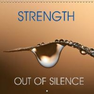 strength out of silence (Wall Calendar 2015 300 × 300 mm Square)