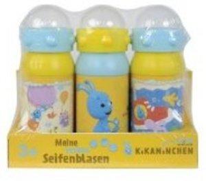 Simba 109467982 - Kikaninchen: Seifenblasen, 3er Set