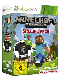 Minecraft - Xbox 360 Edition - Special Pack (inkl. T-Shirt)