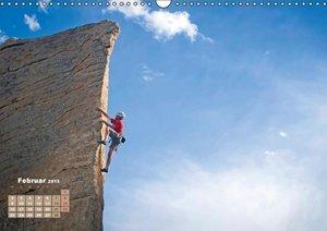 CALVENDO: Abenteuer Klettern: Klippen, Felsen, steile Wände