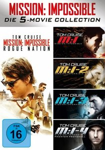 Mission: Impossible 5-Movie Set