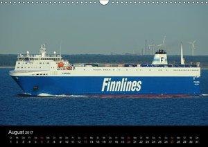 Rostock maritim - Fähr- und Kreuzfahrtschiffe (Wandkalender 2017