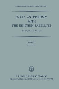 X-Ray Astronomy with the Einstein Satellite