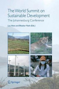 The World Summit on Sustainable Development