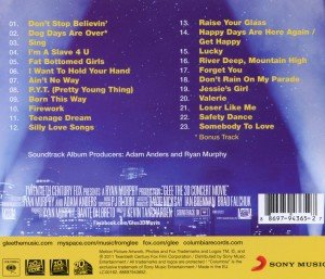 Glee The 3D Concert Movie(Motion Picture Soundtrac