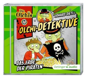 Olchi-Detektive 10 - Das Erbe der Piraten (CD)