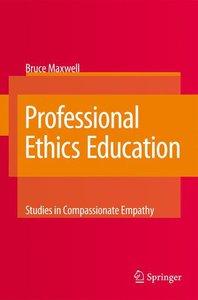 Professional Ethics Education