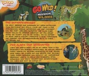 Go Wild! - Mission Wildnis 08. Das Gepardenrennen / Der Alarm de