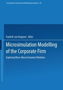 Microsimulation Modelling of the Corporate Firm