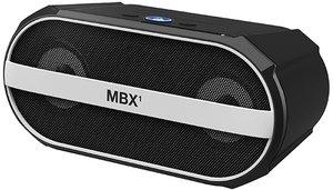 Bluetooth-Lautsprecher MBX1, schwarz-weiss