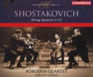 Streichquartette 1-13