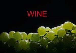 Wine / UK-Version (Stand-Up Mini Poster DIN A5 Landscape)