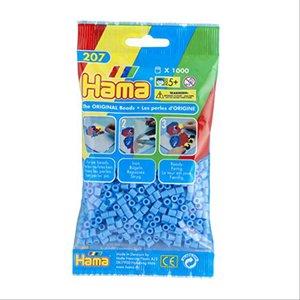 Hama 207-46 - Perlen pastell blau, 1000 Stück
