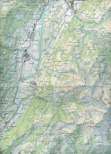Swisstopo 1 : 25 000 Rochers de Naye - Moléson