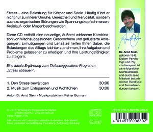 Den Stress bewältigen. Aktiv-Suggestion. CD