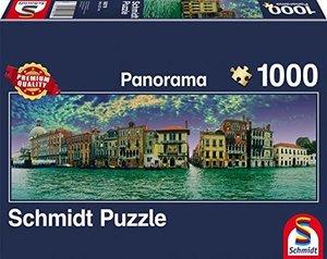 Schmidt 58279 - Blick auf Venedig, 1000 Teile Panorampuzzle