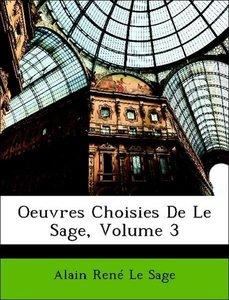 Oeuvres Choisies De Le Sage, Volume 3