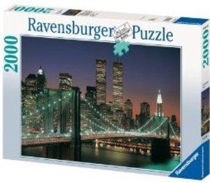 Ravensburger 16609 - New York City Brooklyn Bridge, 2000 Teile P