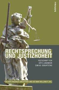 Rechtsprechung und Justizhoheit