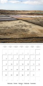 Fantastic Lanzarote (Wall Calendar 2015 300 × 300 mm Square)