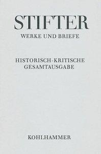 Werke und Briefe I/1. Studien, Journalfassungen I