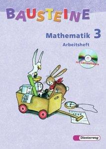 Bausteine Mathematik 3 - Arbeitsheft. mit CD-ROM / Berlin, Breme