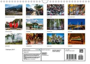 Vietnam 2017 (Wandkalender 2017 DIN A4 quer)