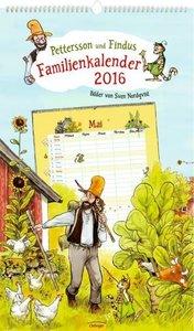 Pettersson und Findus Familienkalender 2016