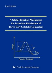 A Global Reaction Mechanism for Transient Simulations of Three-W