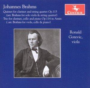 Klarinettenwerke arrangiert für Viola