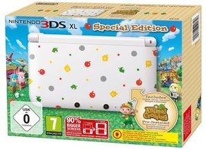 Nintendo 3DS XL - Konsole, weiß + Animal Crossing (vorinstallier