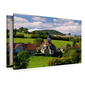 Premium Textil-Leinwand 120 cm x 80 cm quer Bazoches