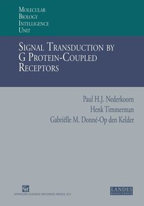Signal Transduction by G Protein-Coupled Receptors
