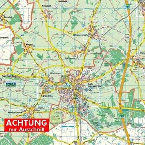 Bad Bramstedt-Land 1 : 35.000 Posterplan