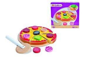 Eichhorn 100003730 - Holz-Pizza zum Belegen