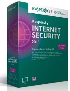 Kaspersky Internet Security 2015 (5PC/1Jahr) - Premium-Schutz fü