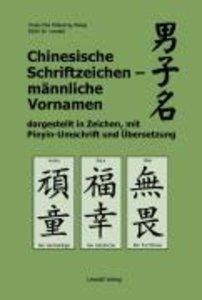 Chinesische Schriftzeichen - männliche Vornamen dargestellt in Z