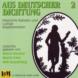 Aus Deutscher Dichtung 2
