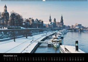Dresden, das Florenz an der Elbe / CH-Version (Wandkalender 2016